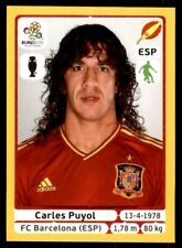 Panini Euro 2012 (Swiss Platinum Edition) Carles Puyol (Spain) No. 289