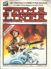 PRIMA LINEA 1 SETTIMANALE A FUMETTI PER RAGAZZI DARDO 1975