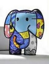 "ROMERO BRITTO MINI ELEPHANT ""LUCKY"" NEW ITEM RETIRED"