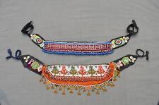Belt 2x Kuchi Afghan Ethnic Boho Hippie Handmade Beads Cowry Wholesale Lot -19