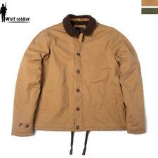 Windbreaker Mens Military USN N1 DECK JACKET HEAVY DUTY Winter Fleece Warm Coats