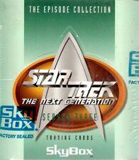 Star Trek Next Generation Season 3 trading cards SEALED BOX - 15 packs, 24 cards