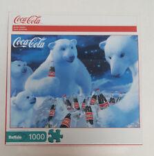 Coca-Cola POLAR BEARS Coke Jigsaw Puzzle 1000 Pieces NEW Buffalo Games