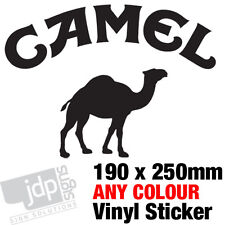 CAMEL STICKER DECAL CAR TRUCK 4X4 LAND ROVER JEEP –ANY COLOUR