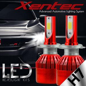 XENTEC H7 LED Headlight Conversion Kit 388W CREE 6000K White Light Bulbs