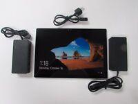 MICROSOFT Surface Pro 4 Silver 128GB Tablet  i5 6300u Win 10 Pro w / BOOK DOCK