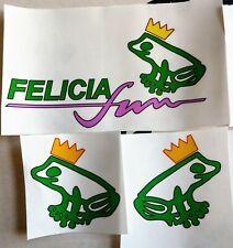 Skoda Felicia Fun Replacement Decals (Promo Version)