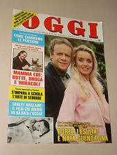 OGGI 1984/17=GLORIA GUIDA=VITTORIO LOI=FRANCHINI=GAETANO BADALAMENTI=MAMMA EBE=
