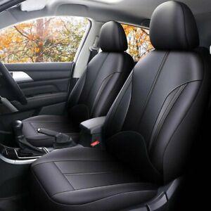 Universal Car Seat Covers PU Leather Waterproof Full Set Cushion Seats Protector