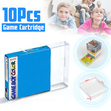 10x Plastic Cartridge Cover Box Protector Case For Nintendo Game Boy GBA CIB