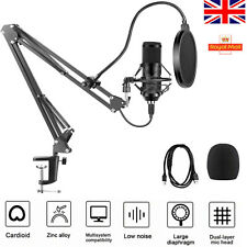 More details for 192khz24bit usb streaming podcast pc microphone studio cardioid condenser mic p3