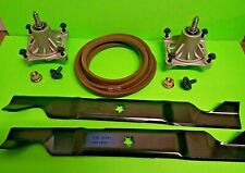 Deck Rebuild Kit Blade Spindle Belt Husqvarna RZ4623 Z246 RZ4619 46 Inch
