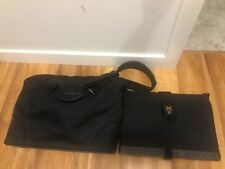 WaterField Designs Black Shoulder Messenger Laptop Cargo Bag USA + Laptop Sleeve