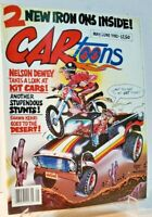 1982 CARTOONS Magazine May/June With 2 IRON ON's INSIDE Comic Mag ORIGINAL