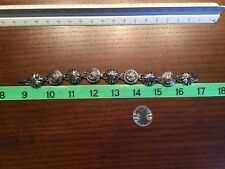 Tone Bracelet Vintage Avon Silver