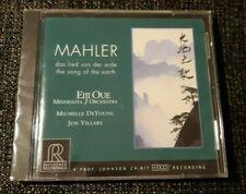 Mahler - Das Lied Von Der Erde  ** Eiji Oue **  NEUF