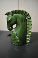 Vintage Art Deco Horse Head Vase  Excellent