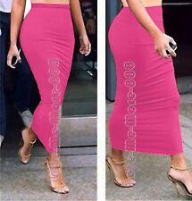 Womens Summer Tight Slim Fit Casual Club PARTY Sheath Maxi Long Skirts Dress 3XL