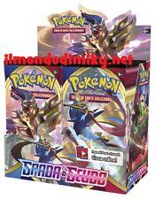 Pokemon Spada e Scudo box 36 buste italiano