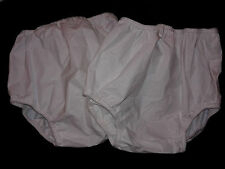 3 new Toddler 2T 28-32 lbs Vintage Gerber PEVA plastic Baby Pants Diaper Cover