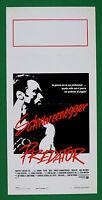 L34 Plakat Raubtier Arnold Schwarzenegger Carl Weathers John Mctiernan