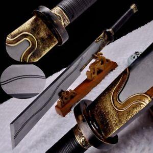 29th Army Broadsword Corps Battle Sword Multiple-refined Folded Pattern Steel