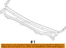Jeep CHRYSLER OEM-Cowl Panel Windshield Wiper Motor Cover 55079197AH