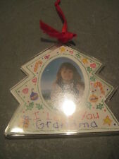 PAPPEL FREELANCE CHRISTMAS TREE PICTURE FRAME ORNAMENT