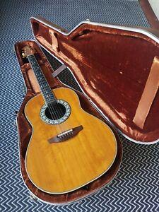 1985 - 86  Ovation guitar model no:1617