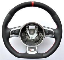 2000-2018 Audi S Line ALCANTARA A3 TT A4 A5 Q5 Q7 A6 A8 R8 S4 S5 steering wheel
