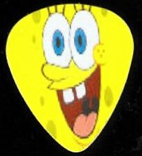 SPONGE BOB SQUARE PANTS NOVELTY GUITAR PICKS SET OF 4
