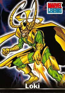 LOKI / Marvel Legends (Topps 2001) BASE Trading Card #60