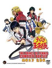 DVD Japan Anime The Prince of Tennis Final Complete Boxset Free Ship English Sub