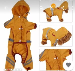 DOG OR CAT RAINCOAT JACKET FUN TO WEAR
