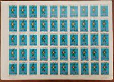 Myanmar - Asean 30th Anniversary - Sheet Of 50 - MNH