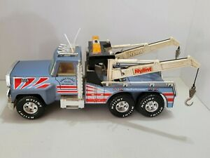 Vintage Metal Plastic Nylint Towing & Recovery Tow Truck 24 Hour Service USA