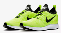 Nike Men's Air Zoom Mariah Flyknit Racer 918264-700 Volt Black $150 Running NEW