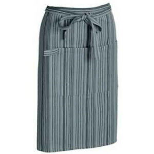 Ladies Mens Bartenders Bar Waiters Cooking Waitrons Cotton Apron With Stripes