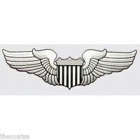 USAF AIR FORCE PILOT WING  5.5 INCH MILITARY DECAL STICKER  MILITARY