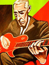 PAT MARTINO PRINT poster jazz undeniable live at blues cd alley alone together