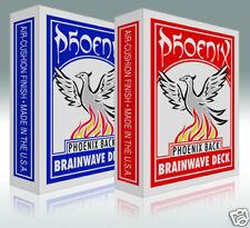 """""""Bicycle Standard"""" The Phoenix Brainwave Deck - Red"""