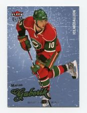 08-09 FLEER ULTRA ICE MEDALLION #164 MARIAN GABORIK 004/100 WILD *56290