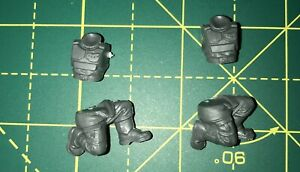 Astra Militarum Heavy Weapons Torsos and Kneeling Legs Warhammer 40K Bits Cadian
