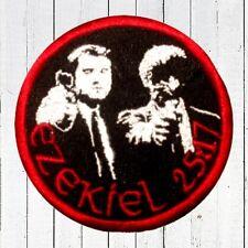 Pulp Fiction Ezekiel 25:17 Embroidered Patch Vincent & Jules Quentin Tarantino