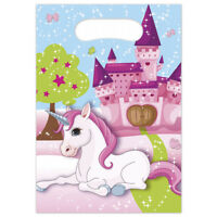 Boys Girls Birthday Party Unicorn Unicorns Themed Loot Bag Lunch Bags Gift