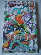 D.Gray-man Vol.18 HOSHINO Katsura GLENAT MANGA EO DL janvier 2010 TBE