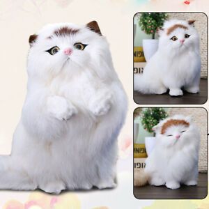 Realistic Kitten Cat Simulation Stuffed Animal Plush Toys for Kids Adult Gifts