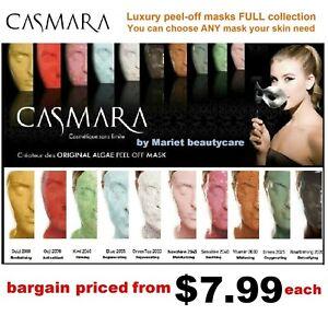 CASMARA 1 peel off mask-Choice of ALL CASMARA Luxury algae peel off masks types