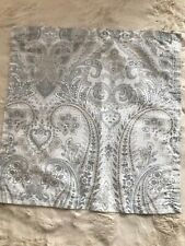 NICOLE MILLER HOME SET OF FOUR TABLE NAPKINS, GRAY PAISLEY