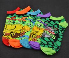 Teenage Mutant Ninja Turtles SOCKS Leo Raph Mikey Don MENS 5prs